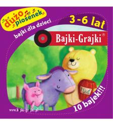 Bajki dla dzieci 3-6 lat - dużo piosenek - 10 bajek