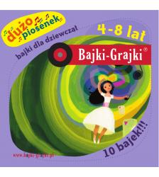 Bajki dla dziewcząt 4-8 lat - dużo piosenek - 10 bajek