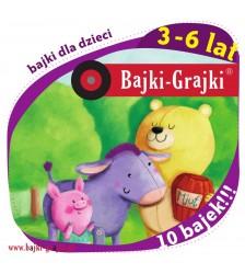 Bajki dla dzieci 3-6 lat - 10 bajek