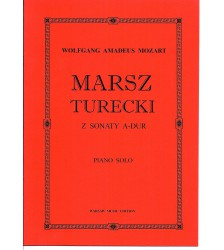 W. A. MOZART Marsz Turecki nuty