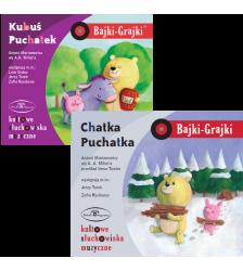 KUBUŚ PUCHATEK - zestaw 2 CD