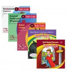 Polscy autorzy dla dzieci starszych - zestaw 5 bajek
