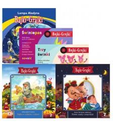 Znane baśnie dla młodszych dzieci - zestaw 5 bajek