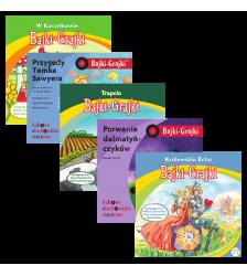 Bajki - dużo piosenek dla starszych dzieci - zestaw 5 bajek