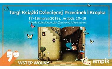 Targi Książki Dziecięcej Przecinek i Kropka 17-18 marca