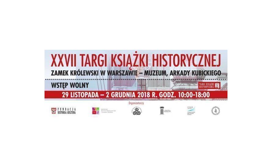 27. Targi Książki Historycznej 2018